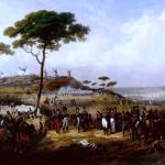 Episode de la guerre d'Espagne en 1823, d'Hippolyte Lecomte (1828), Château de Versailles