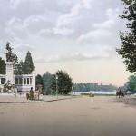 Monument aux enfants du Rhône devant le parc de la Tête d'Or, Lyon